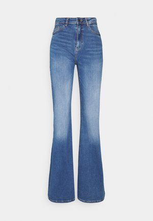 NMNAT - Flared Jeans - light blue denim