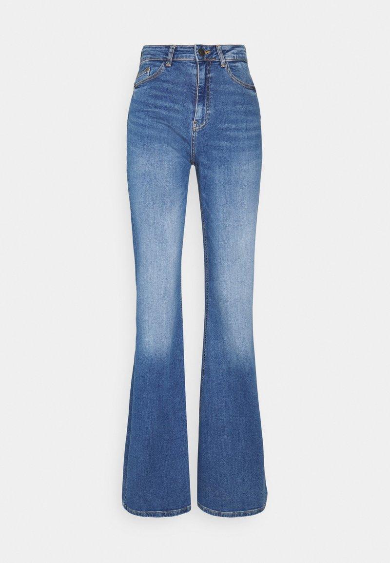 Noisy May Tall - NMNAT - Flared jeans - light blue denim