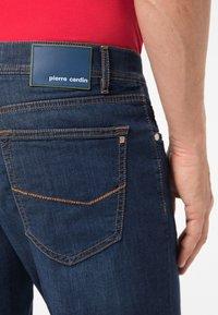 Pierre Cardin - Straight leg jeans - dark blue used - 4