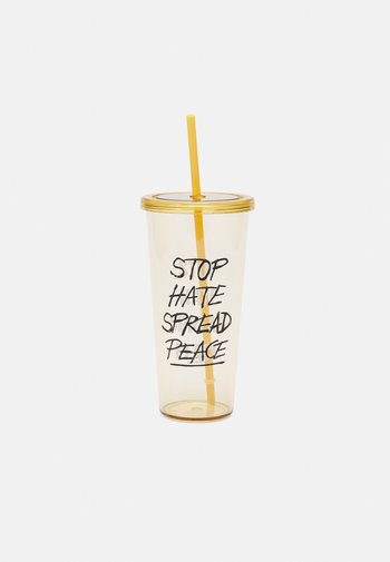 SIPPER SMOOTHIE CUP UNISEX 700ML - Jiné doplňky - beige
