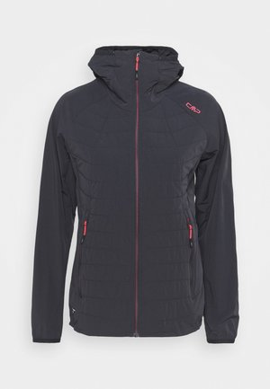 WOMAN FIX HOOD JACKET - Outdoor jacket - antracite