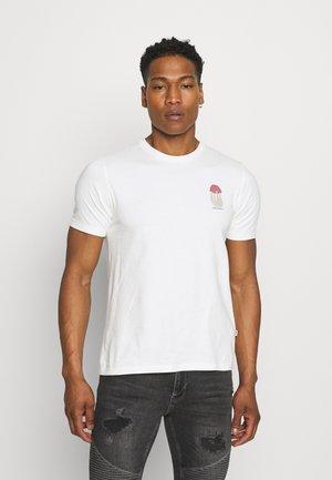 SAMI SHROOM - Print T-shirt - off-white