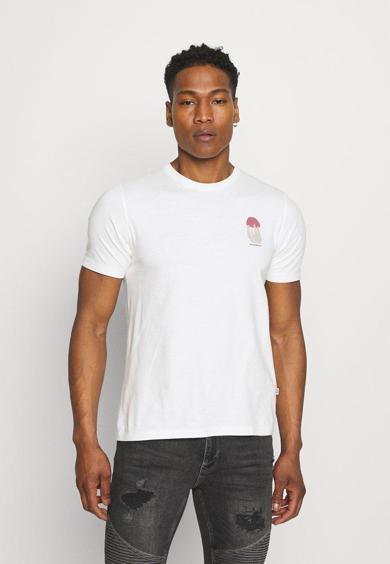 Wood Wood - SAMI SHROOM - Print T-shirt - off-white