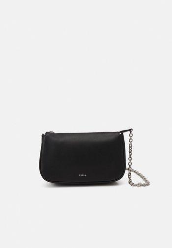 MOON MINI SHOULDER WITH CHAIN - Handbag - nero