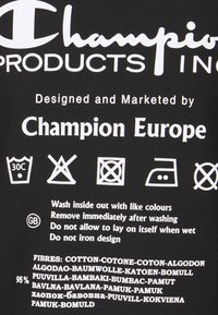 Champion Reverse Weave - HOODED LABELS - Sweatshirt - black - 2