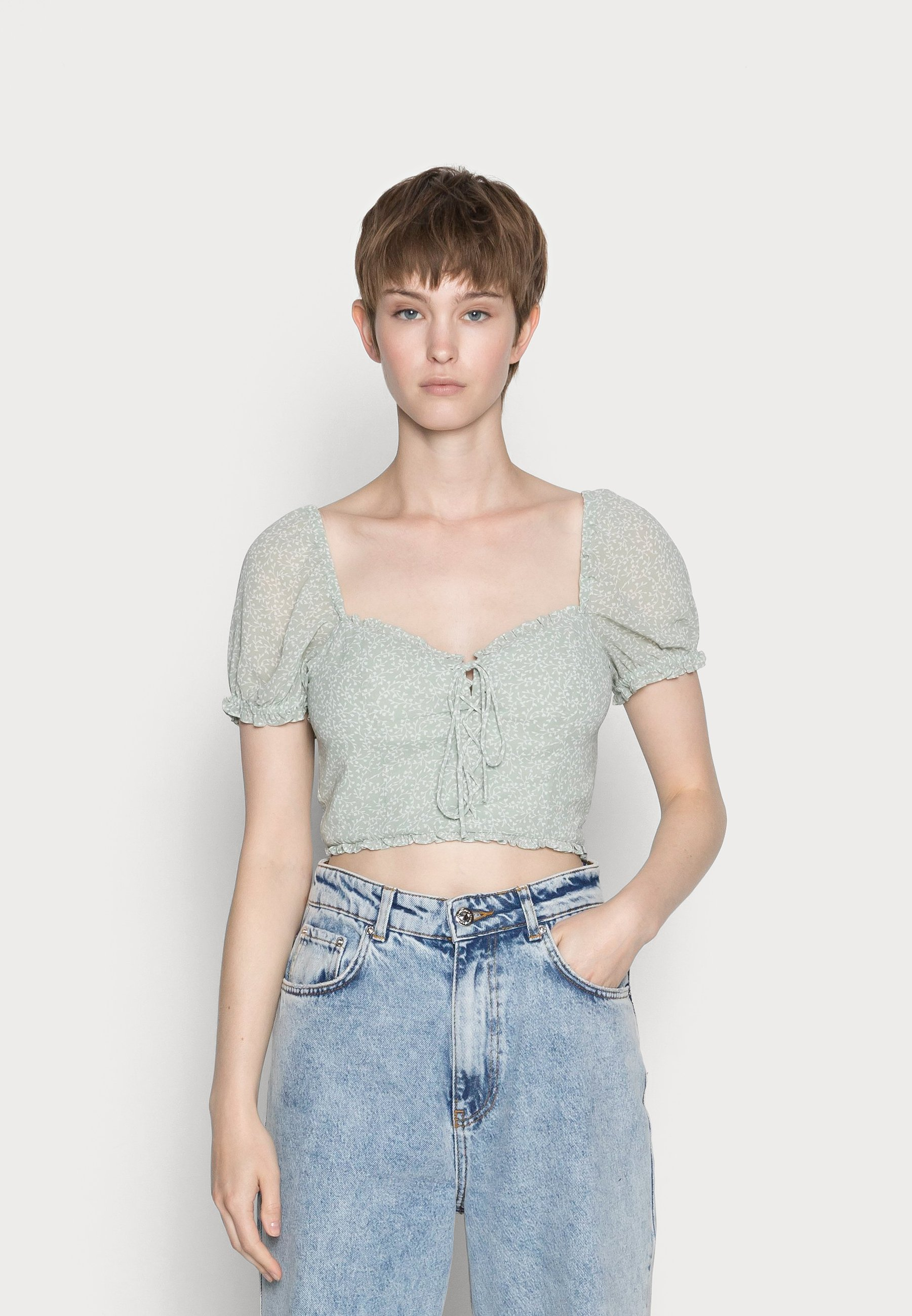 Femme DETAIL CROPPED - Blouse