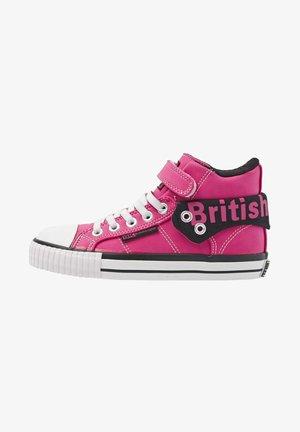 ROCO - Sneakers alte - hard pink/black