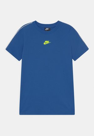 REPEAT - Print T-shirt - game royal/volt