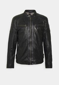 TULOK - Leather jacket - black