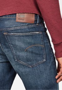 G-Star - 3301 STRAIGHT - Jeans a sigaretta - dk aged - 3