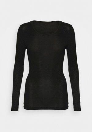 SPARKLE - Pyjama top - black/silver