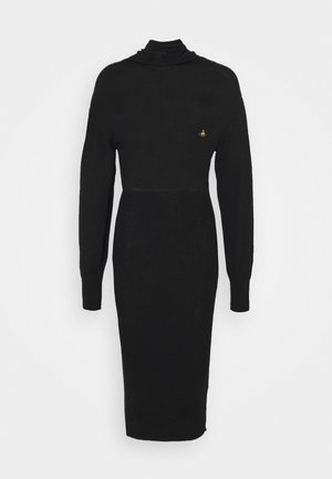 BEA DRESS - Jumper dress - black