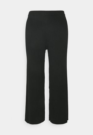CALAH TROUSERS - Bukse - black