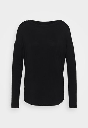 LUXE - Langarmshirt - true black