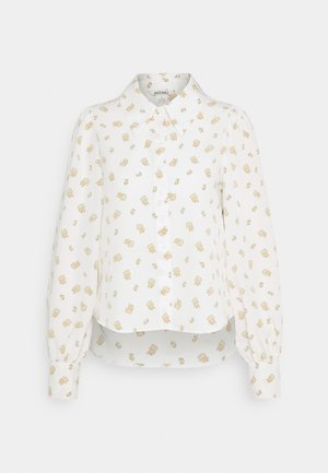 NALA BLOUSE - Button-down blouse - white light