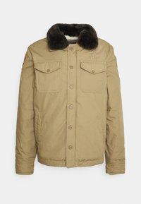 Schott - JEEPER - Winter jacket - beige - 9