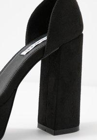 Even&Odd - Sandaler med høye hæler - black - 2