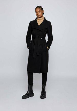 CEDANIA - Classic coat - black