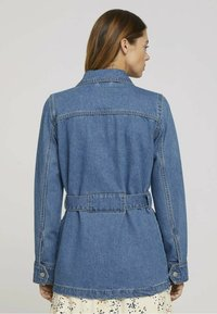 TOM TAILOR DENIM - Denim jacket - used mid stone blue denim - 2