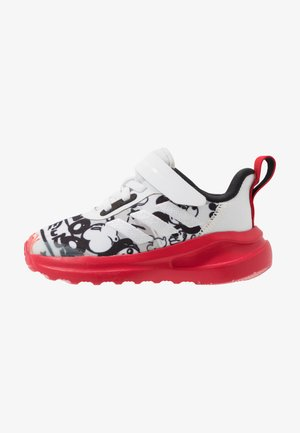 FORTARUN MICKEY - Neutral running shoes - footwear white/scarlet/core black