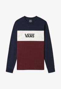 Vans - MN RETRO ACTIVE - T-Shirt print - dress blues-port royale - 1