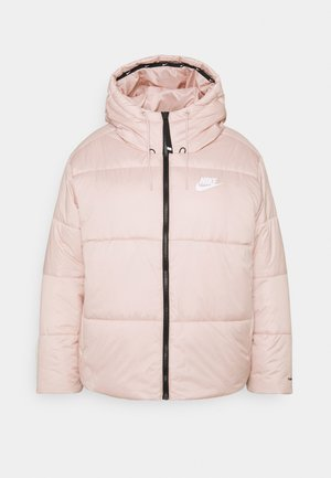 CLASSIC TAPE - Giacca invernale - pink oxford/black/white