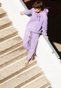 PS Paul Smith - ZEBRA HOODIE - Sweatshirt - purple - 2