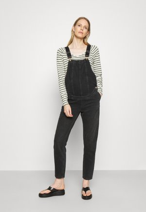 OLMPERCY LIFE OVERALL - Dungarees - black
