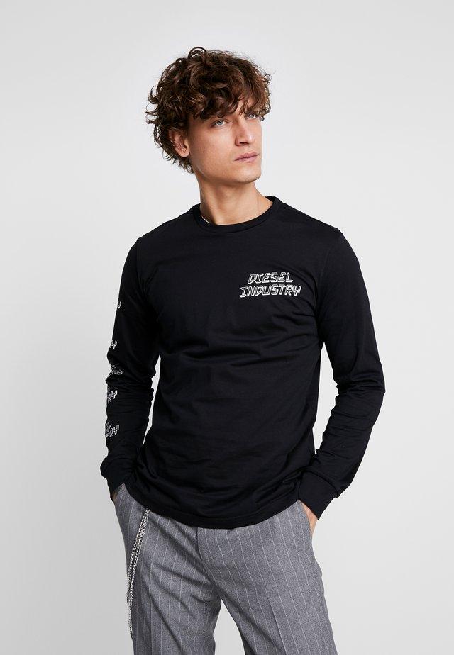 T-DIEGO - Maglietta a manica lunga - black
