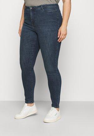 VMLORA - Jeans Skinny Fit - dark blue denim