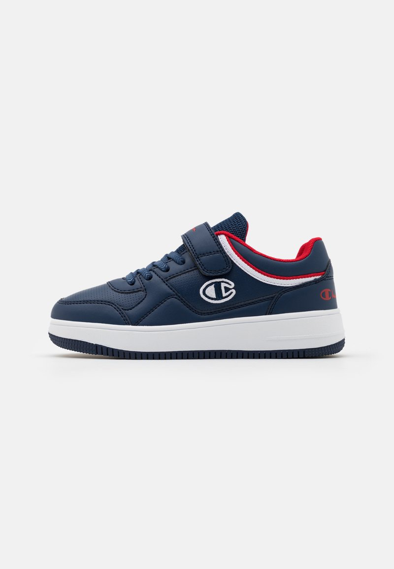 Champion - LOW CUT SHOE REBOUND UNISEX - Basketball shoes - new navy