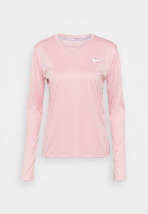 MILER - Tekninen urheilupaita - pink glaze/silver