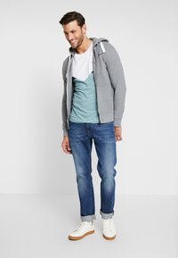 TOM TAILOR DENIM - Hettejakke - heather grey melange - 1