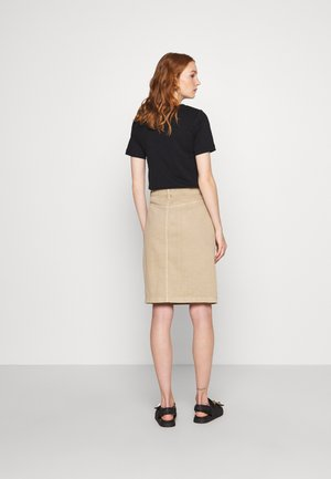 MILNA SKIRT - Pencil skirt - silver mink