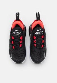 Nike Sportswear - AIR MAX 270 UNISEX - Trainers - black/white/university red/bright crimson - 3