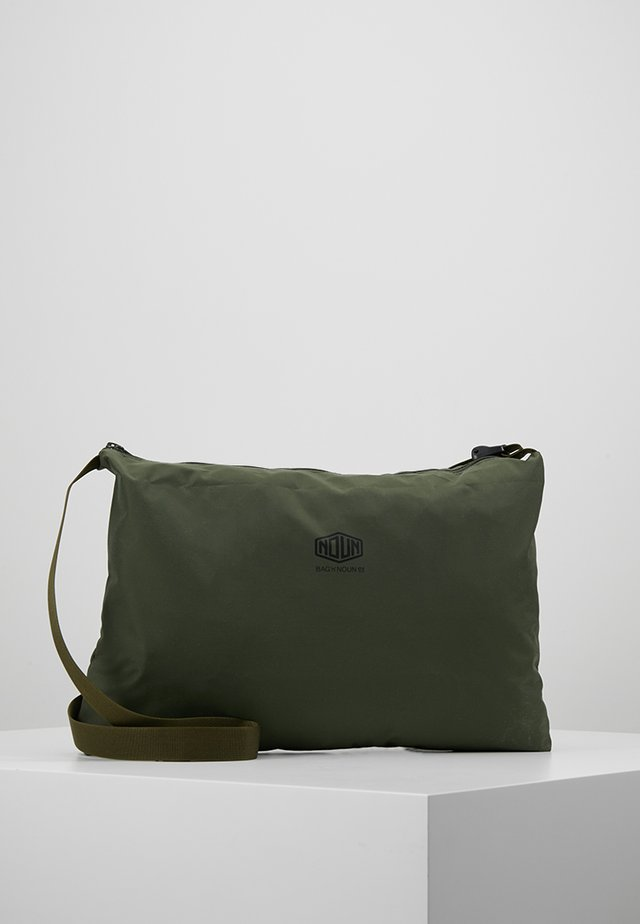 NOUN POST - Across body bag - dark green