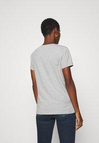 Liu Jo Jeans - MODA - T-shirt print - grigio melange - 2
