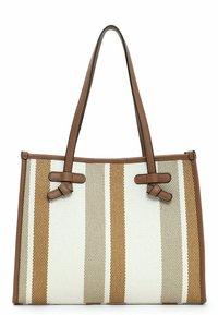 Emily & Noah - Handbag - cognac-stripes - 2