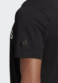 adidas Performance - T-shirts print - black - 5