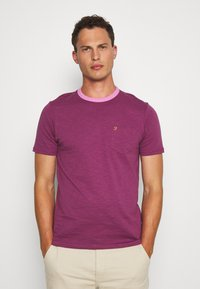 Farah - GROOVE TEE - Basic T-shirt - hippie purple - 0