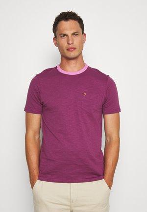 GROOVE TEE - Basic T-shirt - hippie purple