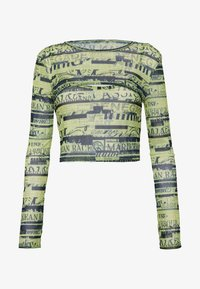 BDG Urban Outfitters - DOUBLE LAYER - Blusa - green flourescent - 4