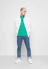 Pepe Jeans - EGGO  - T-shirt med print - emerald - 1