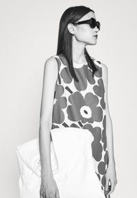 Marimekko - LAINEET PIENI UNIKKO DRESS - Vestido informal - blue/black/off-white - 4