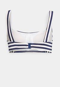 Women Secret - STRIPES - Bikini top - blue - 1