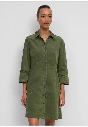 Shirt dress - fresh moss