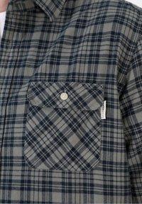 Scalpers - TARTAN POCKET - Shirt - light khaki - 4