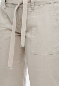 QS by s.Oliver - Trousers - latte - 3