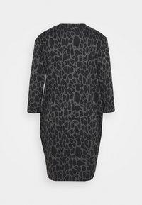Wallis - PEBBLE DRESS - Sukienka z dżerseju - grey/black - 1