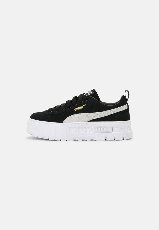 MAYZE  - Sneakers basse - black/white